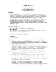 Sample Resume For Experienced Net Developer Resume Microbiologist Fresher Popular Best Essay Ghostwriting
