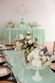 8 ultra pretty mint green wedding accents that are almost lovely