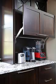 garage door for kitchen cabinet a new generation of appliance garages normandy remodeling