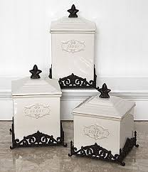 dillards kitchen canisters daniel cremieux home antoinette canisters dillards
