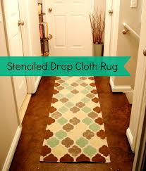 How To Make My Own Rug Best 25 Drop Cloth Rug Ideas On Pinterest Area Rugs For Cheap