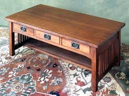 mission style coffee table light oak oak mission coffee table beaconinstitute info