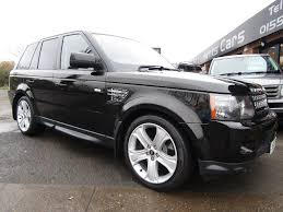 range rover car black used land rover range rover sport suv 3 0 td v6 hse black edition