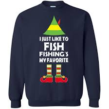 fish sweater i just like to fish fishing is my favorite sweater