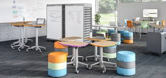 learning desk for collaborative learning environment classroom furniture smith system