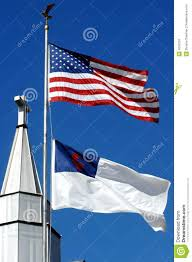Christian Flag Images Cross And Christian Flag Stock Image Image Of Eagle Behind 4255251