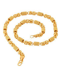 gold plated chain necklace images Factorywala gold plated chain necklace for men amazon in jewellery jpg