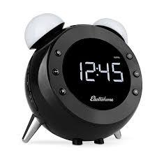 amazon com electrohome retro alarm clock radio with motion