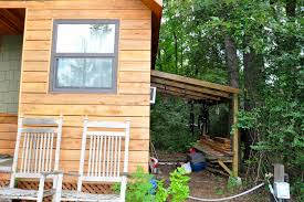 tiny house trend hits the scenic city