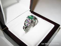 emerald amethyst rings images Art masters jewelry engagement and wedding jewelry blog jpg