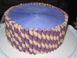 purple yam cake for thanksgiving dinner 2012 from the sweetest