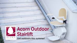 Outdoor Chair Lifts For Stairs Acorn Outdoor Stairlift Get Outdoors This Summer Youtube