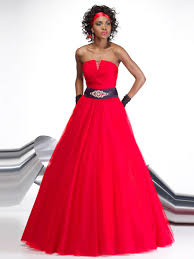 simple quinceanera dresses simple gown strapless neckline brooch enhancing tulle