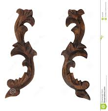decorative wooden ornament pattern stock image image of classic