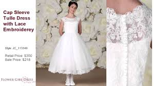 where to buy communion dresses joan calabrese communion dress jc 113349
