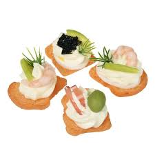 canape toast replica mini toast canape x 4