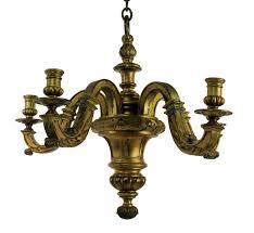 Antique Chandeliers Antique Gilt Bronze Chandelier For Sale At Pamono