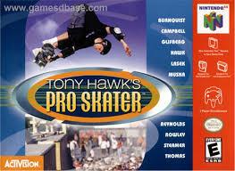 tony hawk pro skater apk tony hawk s pro skater nintendo 64 n64 rom