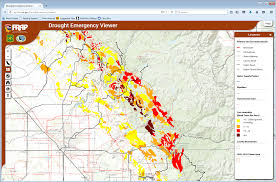 California Maps Frap Emergency Declaration Drought Tree Mortality Viewer