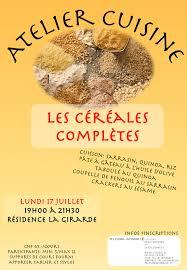 affiche atelier cuisine affiche atelier cuisine céréales adventiste magazine