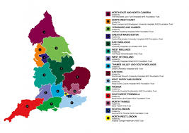 Oxford England Map by Clinical Research Network In England Ukcrc