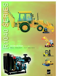 kirloskar r1040 series engine brochure diesel engine engines