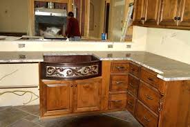 cheap kitchen sinks and faucets copper sink farm with faucet holes bowl farmhouse overmount