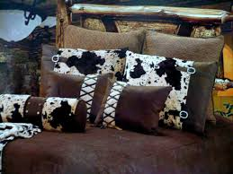 Western Bedding Amazon Com Western Bedding Tooled Cowhide 5 Piece Queen Home