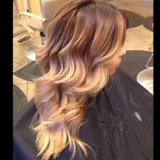 how to fade highlights in hair dark brown hairs summer balayage ombré dark roots fading to warm blonde tips 3