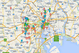 maps update 12361258 tourist map of tokyo u2013 tourist map of tokyo