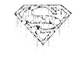 draw superman logo thomasontube deviantart