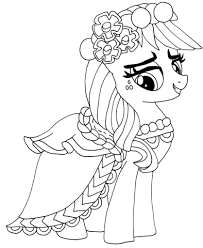 pony applejack coloring free printable coloring pages