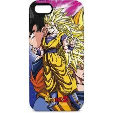 dragon ball goku forms iphone 5 5s se pro case anime