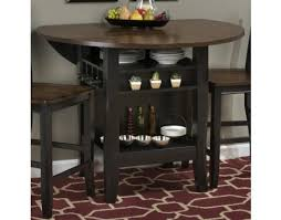 48 round dining table with leaf braden birch 48 round counter height table with drop down leaf by
