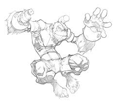 bobo haha sketch by mikebowden on deviantart