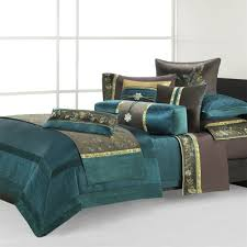 Teal Duvet Cover Natori Potala Palace King Duvet Cover Deep Teal