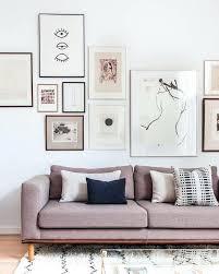 gifi housse de canapé dessus de canape une galerie au dessus du canapac poster