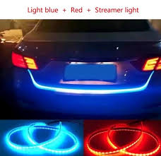 Auto Led Light Strips Car Rear Boot Led Daytime Running Light Strip Trunk Light With