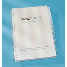 wedding planning book david tutera wedding planner book organizer