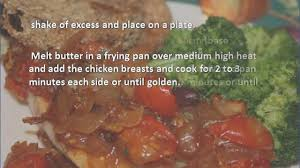 Cuisine Style Provencale by Chicken Provencale Recipe Youtube