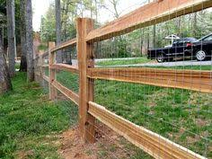 Different Types Of Fencing For Gardens - farmhouse white pallet repurpose with stapled wire fencing to