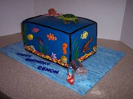 fish tank birthday cake cakecentral com