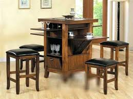 Small Kitchen Table Sets With Storage Small Kitchen Table With - Counter height kitchen table with storage