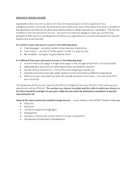 Graduate Application Resume How To Write A Graduate Resume Resume Ideas
