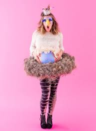 6 diy feather costumes to fly into halloween sydne style