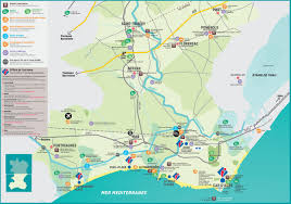 France Cities Map by Agde Area Map