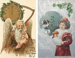 news years cards collection of beautiful vintage new years cards what will matter