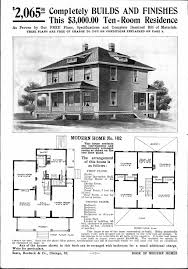 House Blueprints by Sears Homes 1908 1914