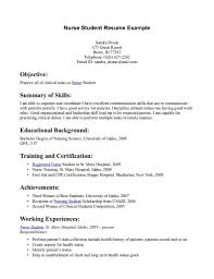 Curriculum Vitae Samples Pdf For Freshers by Student Resume Sample Free Resume Example And Writing Download