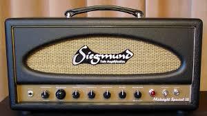Custom Head Cabinet Siegmund Midnight Special 300b Head Handmade Guitar Tube Amplifier